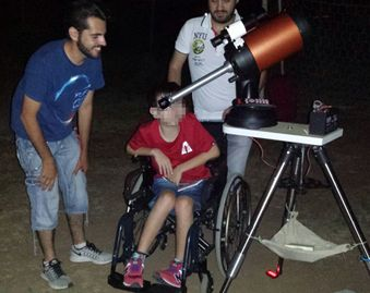 Star Party inclusivo a Latina