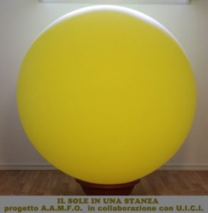 Pallone del sole gonfiato a 1391 cm