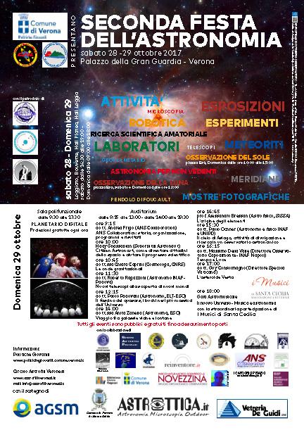 II festa astronomia veronesi