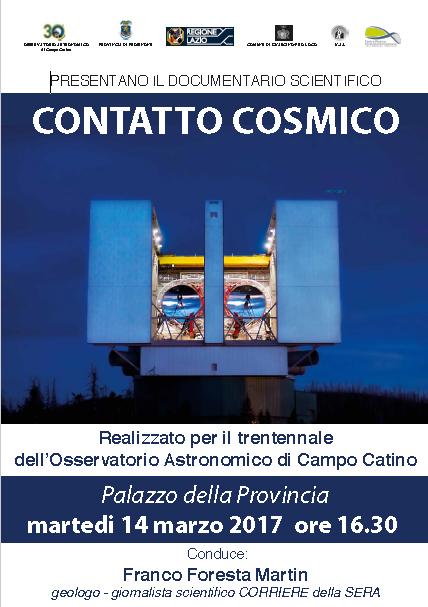 contatto cosmico