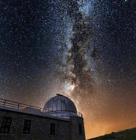 La Via Lattea dall'Osservatorio di Campo Imperatore