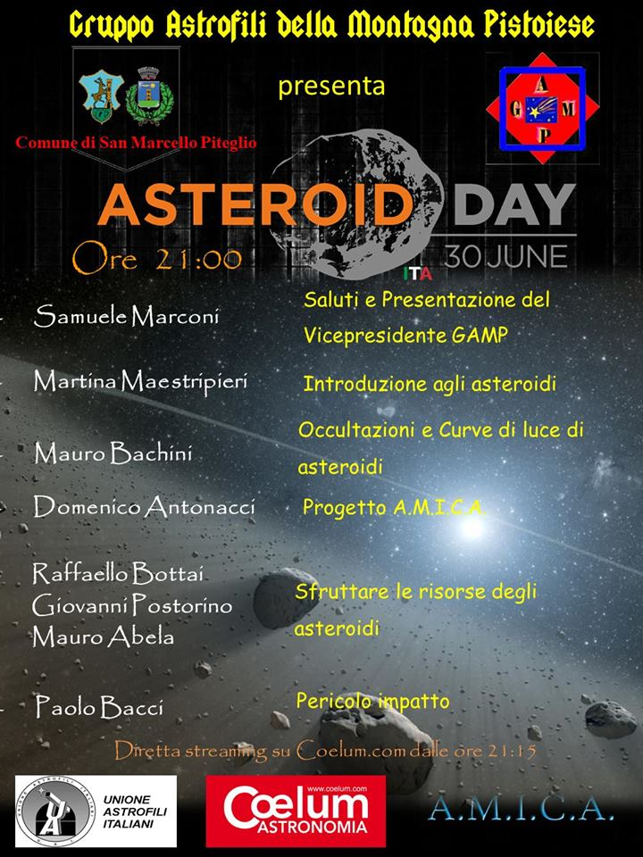 Asteroid day2017