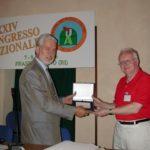 Brian Marsden - Premio Lacchini UAI 2001 – Frasso Sabino (RI)