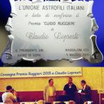 Premio Ruggieri UAI 2015 - Claudio Lopresti